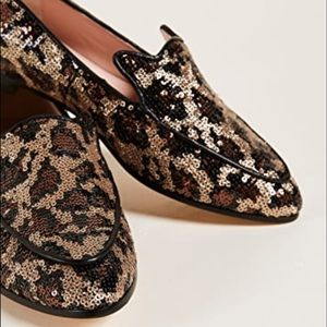 KATE SPADE NEW YORK caty sequined loafers